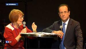 Parité : Hollande, Joly et Mélenchon face aux femmes