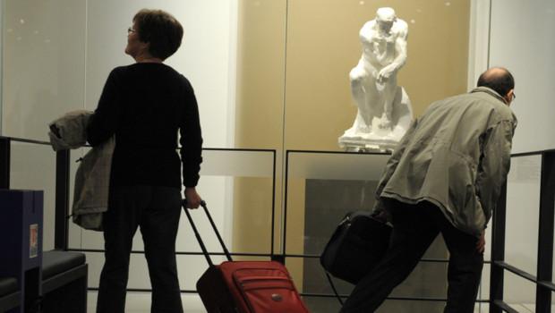 """Ses pièces les plus célèbres comme """"Le penseur"""", """"Le baiser"""" ou """"L'âge d'airain"""" sont exposées."""