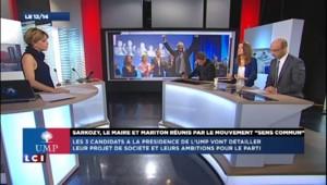 """UMP : Sarkozy, Le Maire et Mariton réunis par le mouvement """"Sens commun"""""""