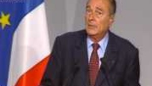 chirac allocution crash USA