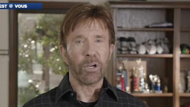 Chuck Norris dans un clip de soutien à Mitt Romney