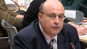 Gérald Lesigne, procureur de la République de Boulogne-sur-Mer lors de l'affaire Outreau (février 2006)