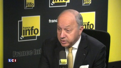 "Laurent Fabius : ""Des perspectives importantes"", avec l'Iran"