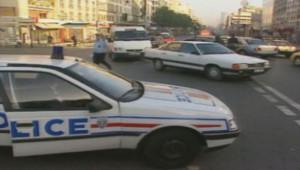 voiture de police 1997 circulation alternée contrôle