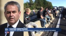 "Bertrand - Blocage A1 : ""Pas question que cela reste impuni"""