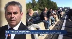"""Bertrand - Blocage A1 : """"Pas question que cela reste impuni"""""""