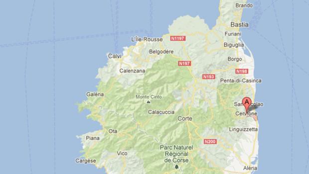 Cervione, en Corse