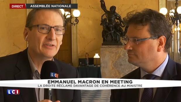 Emmanuel Macron doit choisir son camp, selon le député LR de la Manche