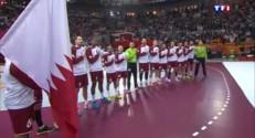 Mondial de handball : l'hymne du Qatar chanté d'une seule voix