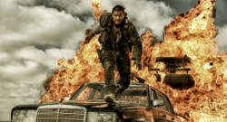 Tom Hardy dans Mad Max : Fury Road de George Miller