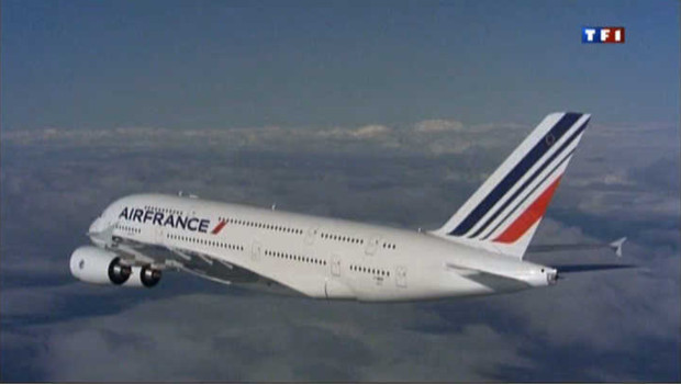Un avion d&#039;Air France