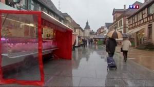 En Alsace, l'hiver s'installe doucement avec la chute des températures