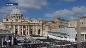 Les temps qui ont précédé la messe inaugurale du pape François