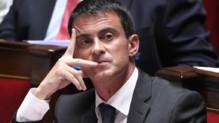 Manuel Valls lors des questions au gouvernement le 10 septembre 2014.