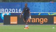Patrice Evra, blessé à la main lors de l'entraînement