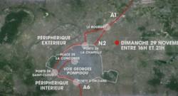 Pour assurer la sécurité de la COP 21, de nombreuses routes de région parisienne seront fermées ce dimanche.