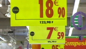 supermarché magasin promo