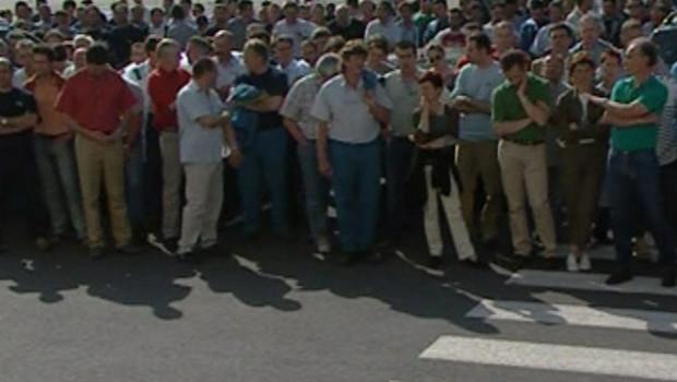 TF1/LCI les salariés de la Sogerma manifestent