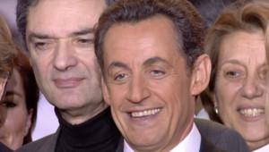 TF1/LCI - Nicolas Sarkozy lors de son discours d'investiture au Congrès de l'UMP, le 14 janvier 2007
