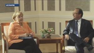 Angela Merkel et François Hollande au G20.