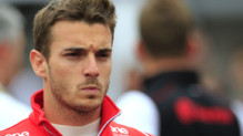 Jules Bianchi, pilote de F1