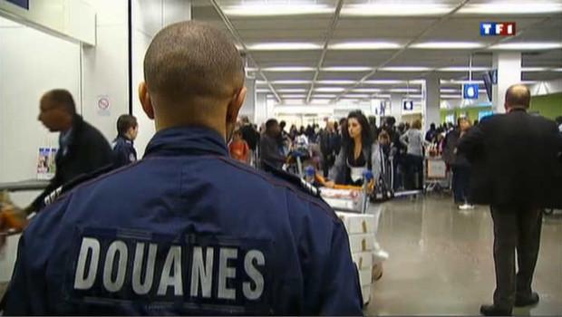 Les douaniers de l'aéroport de Roissy.
