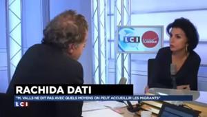 """Rachida Dati : comment accueillir les enfants de réfugiés dans une école déjà """"fracturée"""" ?"""