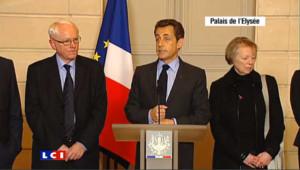 """Sarkozy demande """"qu'on parle de Florence Cassez"""""""
