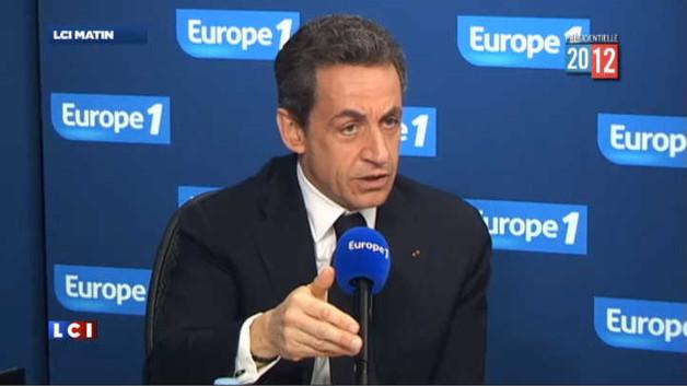"""Sarkozy sur les sondages : """"Ça ne sert à rien de s'énerver"""""""