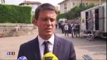 """Valls répond à Sarkozy : """"Des mots qui blessent inutilement le pays"""""""