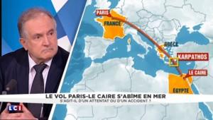 """Vol Paris-Le Caire : """"l'hypothèse première est celle d'un attentat"""" affirme un ancien commandant de bord"""