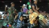 Nuit de fête en Libye : les images