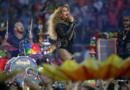 Beyoncé lors de la mi-temps du Super Bowl 2016