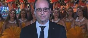 François Hollande taïti