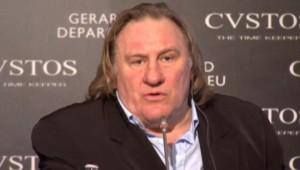 Gérard Depardieu, le 17/12/14