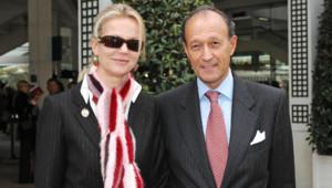 Hélène de Yougoslavie avec son époux Thierry Gaubert en 2005
