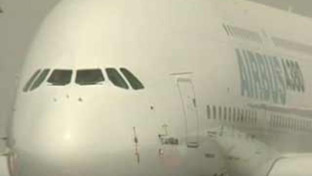 L'avant de l'avion