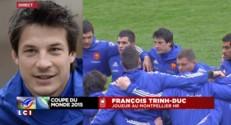 """Mondial de rugby 2015 : François Trinh-Duc """"C'est une grande joie"""""""
