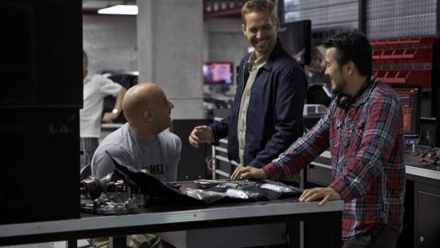 Sur le tournage du film Fast & Furious 6