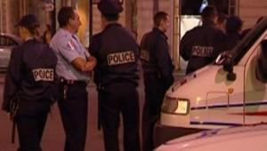 TF1-LCI - Policiers à Nantes le 17 septembre 2006