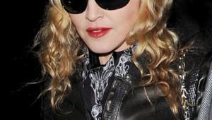 La chanteuse, actrice et réalisatrice Madonna