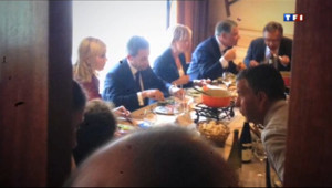 Le 20 heures du 18 septembre 2013 : Sarkozy en Haute-Savoie : ses confidences autour d%u2019un caf� 539.1779559631348