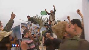 Libye : les troupe de Kadhafi gagent du terrain