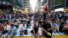 Manifestation à Hong Kong, le 30/9/14
