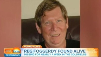 Reg Foggerdy a survécu pendant six jours dans le désert australien en mangeant des fourmis