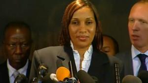 Conférence de presse de Nafissatou Diallo le 28 juillet 2011.