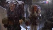 D'étranges créatures effraient la vallée suisse pour le carnaval