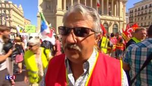 """La manifestation contre la loi Travail à Marseille : """"On lâchera pas notre mécontentement"""""""