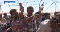 Le 20 heures du 22 septembre 2014 : Syrie : Les kurdes attaqu�par les jihadistes fuient en Turquie - 373.988