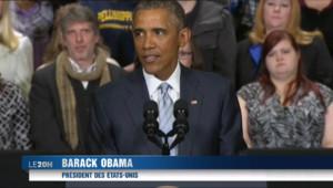 """Le 20 heures du 9 janvier 2015 : Barack Obama aux Français: """"les Etats-Unis sont à vos côtés"""" - 4334.588"""